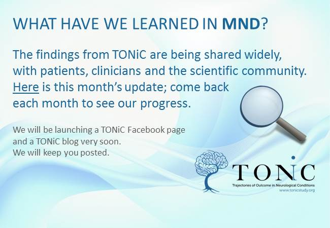MND Research Update