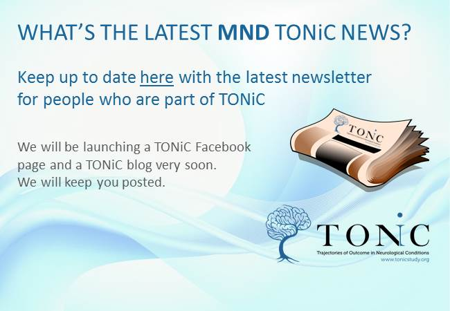 MND TONiC Newsletter